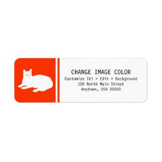 Cat - Return Address Label