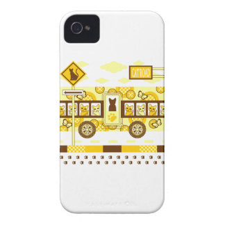 CAT ROAD AND CAT BUS iPhone 4 COVERS