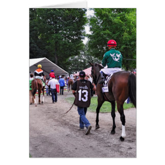 Cat s Claw wins the Waya Stakes Greeting Cards