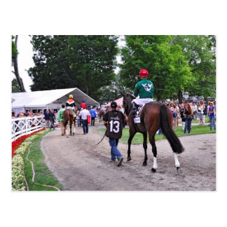 Cat s Claw wins the Waya Stakes Post Card