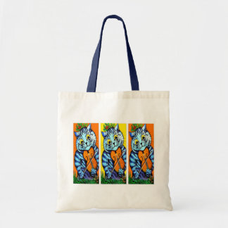 Cat(s) Playing Violin by Louis Wain Tote Bag