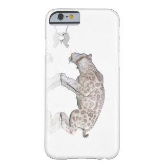 Cat Sabretooth Reflection Staring At Each Other Barely There iPhone 6 Case