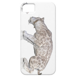 Cat Sabretooth Reflection Staring At Each Other iPhone 5 Cover