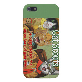 Cat Scouts of America iPhone case iPhone 5/5S Cover