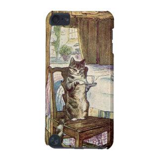 Cat Serving Tea - Beatrix Potter iPod Touch (5th Generation) Cover