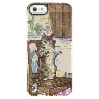 Cat Serving Tea - Beatrix Potter Permafrost® iPhone SE/5/5s Case