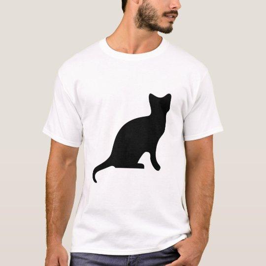 Cat Silhouette art T-Shirt