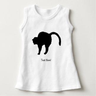 cat silhouette dress