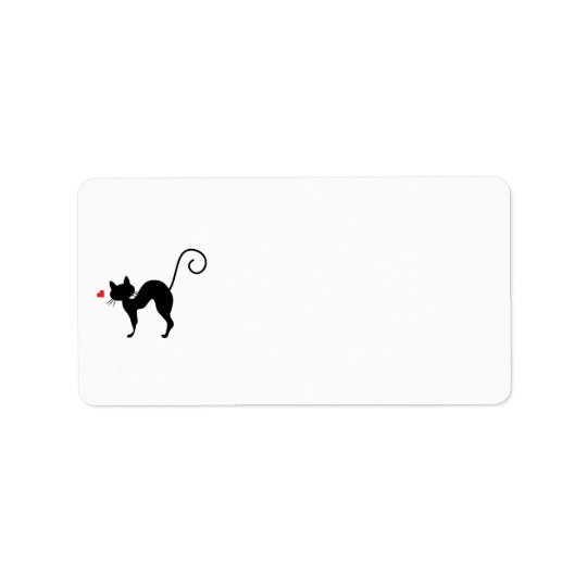 Cat silhouette for cat lovers