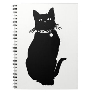 Cat Silhouette Notebooks