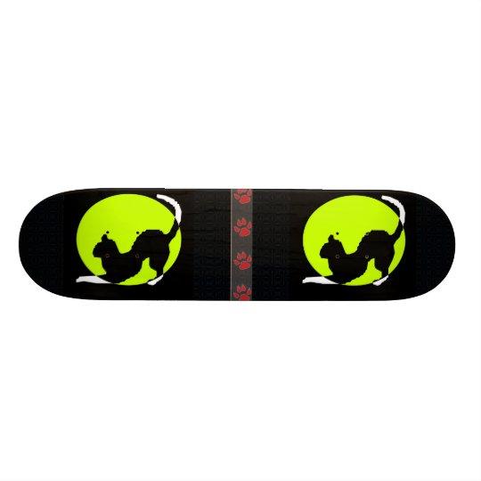 Cat Silhouette Skateboard