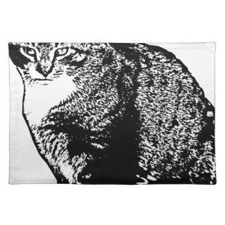 Cat Sitting Placemat
