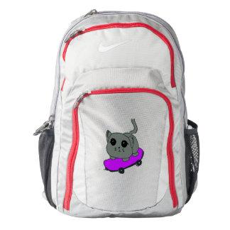 cat skateboard backpack