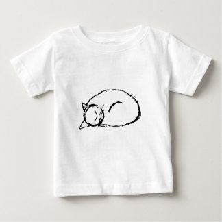 cat sleeping baby T-Shirt