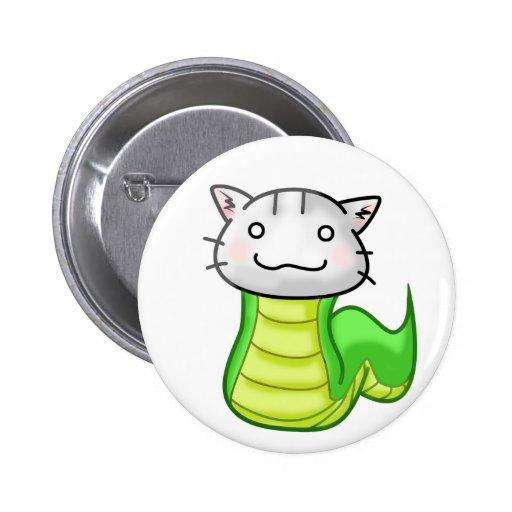 cat snake button