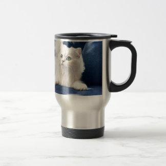 cat sofa travel mug