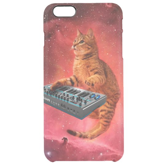 cat sounds - cat - funny cats - cat memes clear iPhone 6 plus case