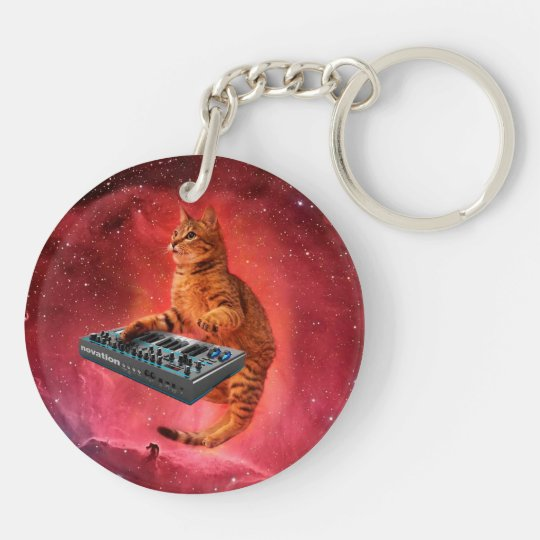 cat sounds - cat - funny cats - cat memes Double-Sided round acrylic keychain