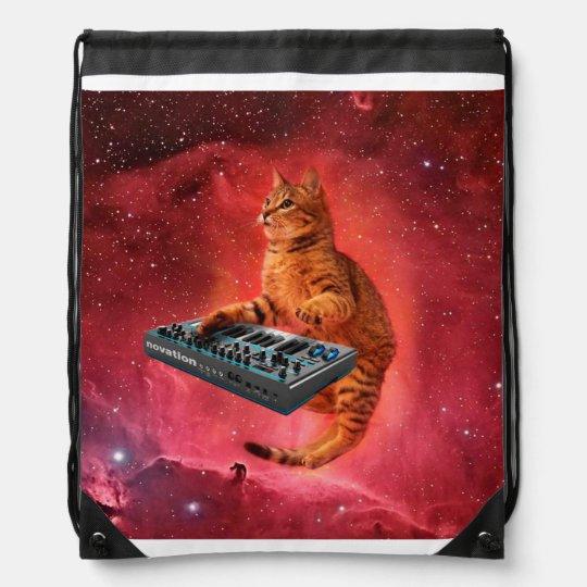 cat sounds - cat - funny cats - cat memes drawstring bag