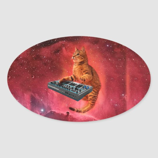 cat sounds - cat - funny cats - cat memes oval sticker