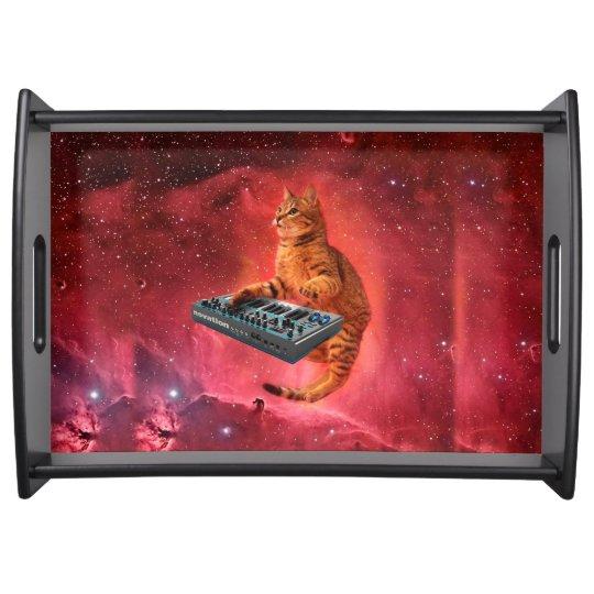 cat sounds - cat - funny cats - cat memes serving tray