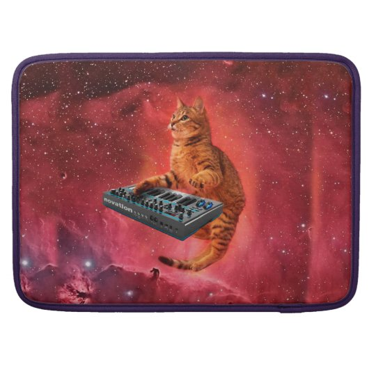 cat sounds - cat - funny cats - cat memes sleeve for MacBooks