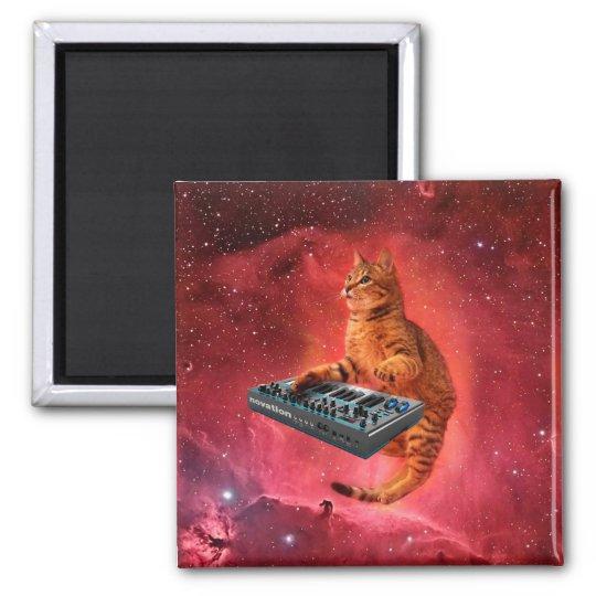 cat sounds - cat - funny cats - cat memes square magnet