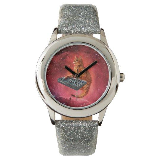 cat sounds - cat - funny cats - cat memes wristwatch