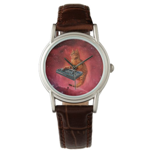 cat sounds - cat - funny cats - cat memes wristwatch