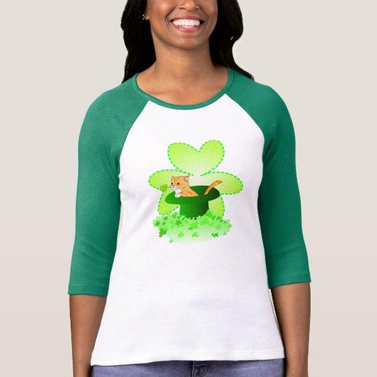 Cat St. Patrick's Day Shirts