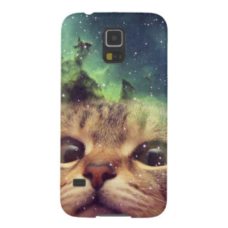 Cat Staring into Space Galaxy S5 Case