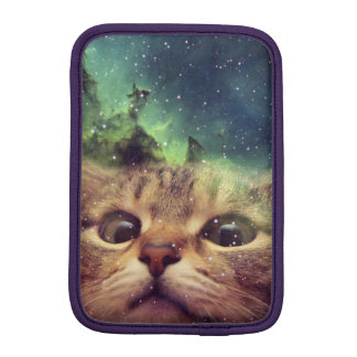 Cat Staring into Space iPad Mini Sleeves
