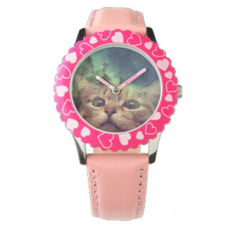 Cat Staring into Space Watches