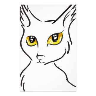 Cat Stationery Design