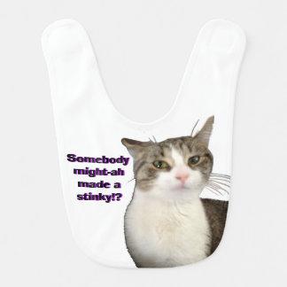 Cat stinky bib