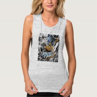 cat style tank top