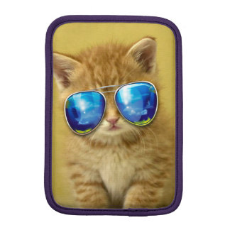 Cat sunglasses - cat love - pet - cute cats iPad mini sleeve