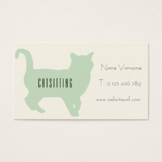 cat support business card