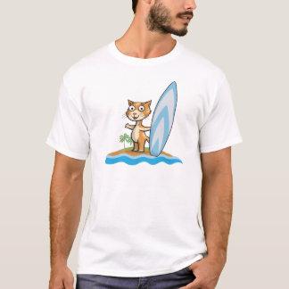 Cat Surfer T-Shirt