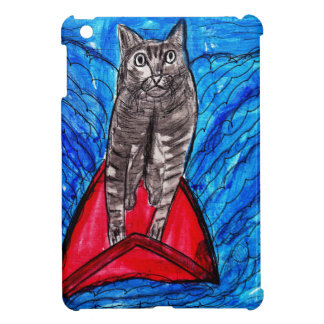 Cat Surfing Cover For The iPad Mini