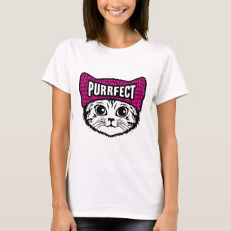 Cat t-shirt: Purrfect T-Shirt