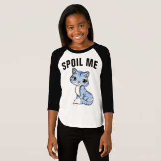 CAT t-shirts for Girls, SPOIL ME