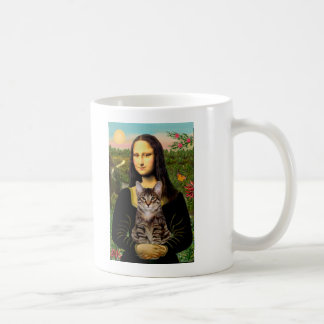 CAT (Tabby) - Mona Lisa Coffee Mug