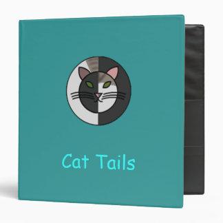 Cat Tails 3-Ring Binder
