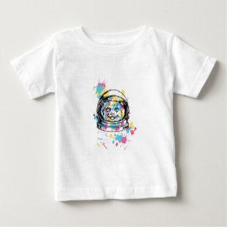 cat the astronuat baby T-Shirt
