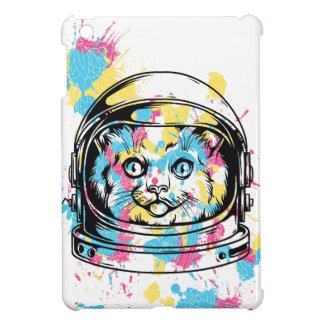 cat the astronuat iPad mini case