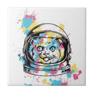 cat the astronuat tile