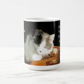 Cat Thoughts #1 Classic White Coffee Mug