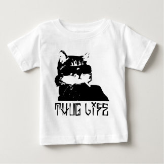 cat-thug-life-cholo baby T-Shirt