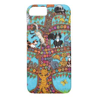 Cat Tree of Life 2 iPhone 7 Case
